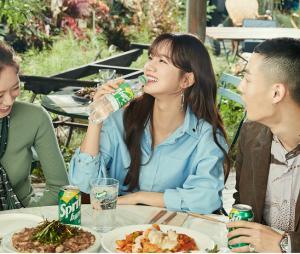 스프라이트, 걸스데이 '혜리'와 함께 한 광고 현장 공개